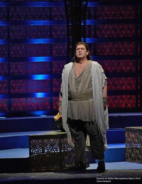 Gregory Kunde Samson et Dalila Metropolitan Opera