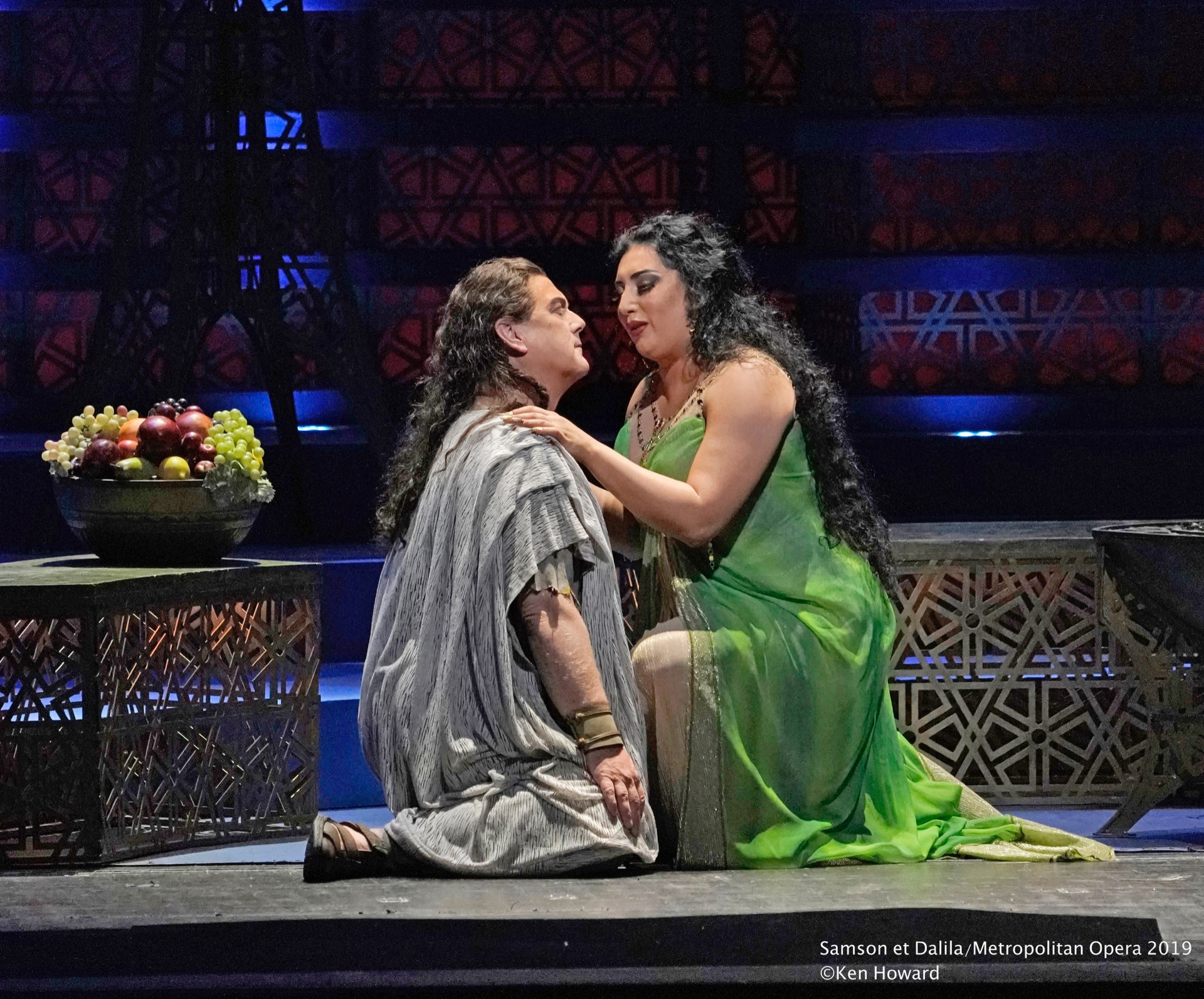 Gregory Kunde Semson et Dalila Metropolitan Opera 2